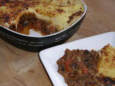 Soya & Veggie Shepherd's Pie