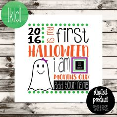 First Halloween svg | 1st Halloween svg | Halloween svg files | Baby First Halloween | Ghost svg | My 1st Halloween svg by KellyLollarDesigns on Etsy