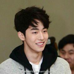 His hairs so cuteeee ^^^^^ Asian Actors, Korean Actors, Korean Idols, Jong Hyuk, Joon Hyung, Nam Joohyuk, Lee Sung Kyung, Korean Boys Ulzzang, Weightlifting Fairy Kim Bok Joo