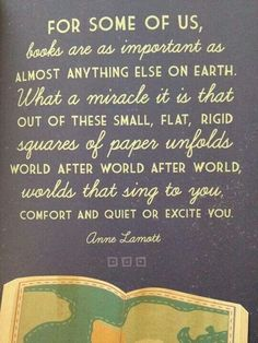 Anne Lamott on books. I love Anne Lamott. I Love Books, Good Books, Books To Read, My Books, Reading Quotes, Book Quotes, Library Quotes, Library Memes, Library Posters