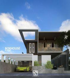 #Architect #HomeDesign #BoxHouse #Recidence #Arsitek #DesainRumah #Architecchi