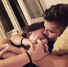Couple Posts 💑 Relationship Goals and lots of love 💕 online Love Couple, Couples In Love, Romantic Couples, Couple Goals, Couple Bed, Couple Pics, Perfect Couple, Beautiful Couple, You Smile