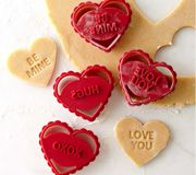Sheila G would love to spend the day w/ her granddaughter and these cute little cookie cutters!