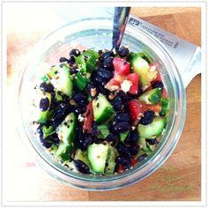 Blackbean-Dukkah-Salat sommerlich frisch