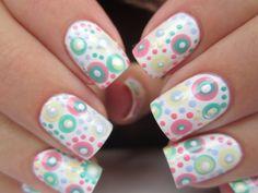 Pastel polka dots!