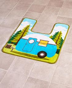 Never feel like you're far away from the great outdoors with this Retro Camping Bathroom Collection. x Rug. Treat you with the utmost honesty, courtesy and respect. Treat us with similar honesty, courtesy and respect. Sink Accessories, Home Decor Accessories, Camper Bathroom, Bathroom Bath, Bath Shower, Retro Camping, Beach Camping, Camping Stuff, Camping First Aid Kit