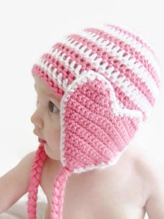 Valentines Day Heart Hat  Baby Child Adult Beanie e86555f9943b