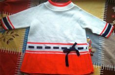 Knit Sailor Dress 3T4T by lishyloo on Etsy, $12.00