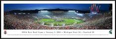 2014 Rose Bowl Panoramic Picture $99.95