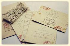 Noivinha em Folha / convite de casamento informal  Rustic-Pink-Rose-Wedding-