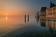 Punta San Vigilio - Primo tramonto di Marzo sul lago di Garda