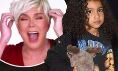 Kris Jenner wore a blonde wig to pick up granddaughter North West   Daily Mail Online