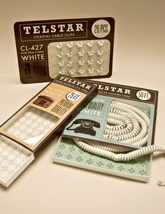 Telestar Retro Packaging.
