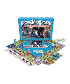 This Pony-opoly Board Game is perfect! #pony #games