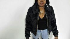 Rocawear Ladies Black Faux Fur Jacket OLR425H #Rocawear #BasicJacket