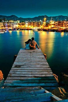 Romantic - Northern Cyprus and ancient city of Girne...not in Turkey, in Northern Cyprus.  It is called the Liman...the marina :)