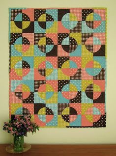 Love the color combination of the Cloud 9 fabrics created on Sillyboodilly blog.