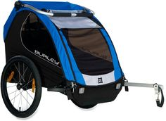 Take the kiddos out for a ride. Burley Encore Bike Trailer.
