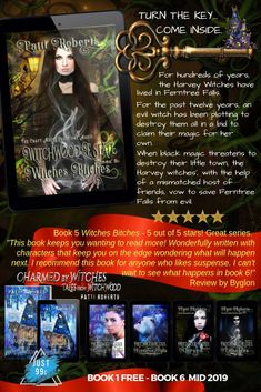 Book 1, This Book, Book Press, Evil Witch, Fallen Book, Press Release, Vampires, First Night, Witches