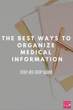 Ever feel like your family medical information is disorganized and always hard to find?  I used to have the hardest time finding my kids shot records or any other medical forms. These tips and tricks have been so helpful! My medical binder has been a life