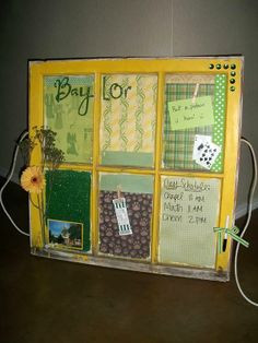 Cute #Baylor window art for the dorm, apartment or home