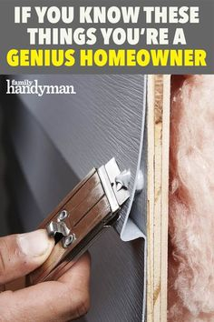 Handyman Projects, Home Fix, Diy Home Repair, Roof Repair, Home Repairs, Useful Life Hacks, Home Renovation, Home Projects, Home Improvement