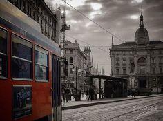Ed eccoci in Cordusio con Saverio Recchia #milanodavedere Milano da Vedere