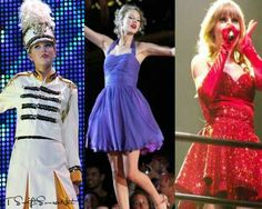 """Taylor Swift Fearless Tour, Speak Now Tour and the RED Tour """"You Belong With Me"""""""