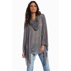 AAHHH!!!  I have to have this!  So easy to throw on over the cami and jeans I am usually found lounging around in at home!      Elan Poncho