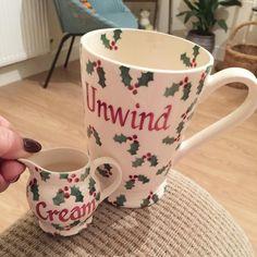 Personalised Little Holly Cocoa Mug and Tiny Jug 2016