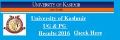 Kashmir University Exam Result 2016,Kashmir University Result 2016,Kashmir University Results,University of Kashmir Result 2016,Kashmir University B.A, B.com, B.sc Results,Kashmir University UG 1st year Result,www.kashmiruniversity.net,exam Result,Results,Result 2016  Kashmir University Exam 2016 Result – The University of Kashmir has been Successfully Conducted Under Graduate Courses and Post graduate Courses. Kashmir University has declared B.A, B.com, B.sc Exam 1st Year Result at…