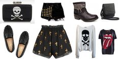 moda rock n roll feminina - Pesquisa Google