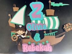 Really cute, fun cake toppers! Perfect to make any child's already wonderful birthday even more perfect! They are made with quality cardstock. Made with many layers to give it the 3D look and they are very sturdy choose between a acrylic stick and or a white paper stick (still very sturdy) Pirate Party Favors, Pirate Theme, Halloween Birthday Cakes, Birthday Cake Toppers, Pirate Ship Cakes, Party Giveaways, Mermaid Cakes, Pirate Life, White Paper