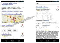 Google makes tweaks to mobile local search