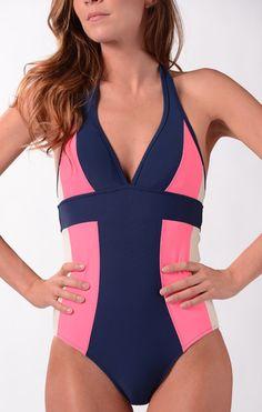 Footbridge Beach Suit from Downeast basics