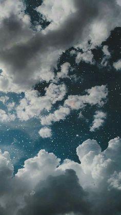 Wallpaper Pastel, Night Sky Wallpaper, Iphone Wallpaper Glitter, Cloud Wallpaper, Iphone Background Wallpaper, Aesthetic Pastel Wallpaper, Tumblr Wallpaper, Aesthetic Backgrounds, Aesthetic Wallpapers