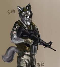 Wolf soldier, also off the internet.