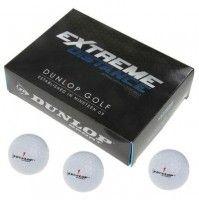 12 x Dunlop Extrme Distance Golfbälle Weiss