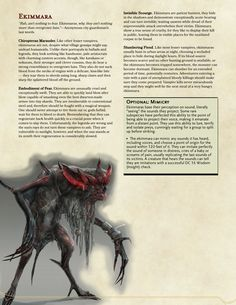 DnD 5e Homebrew — The Witcher monsters Part 2 by Regerem