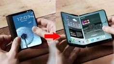 Samsung's next smartphone could have foldable display.