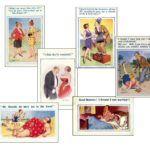 Saucy Postcards