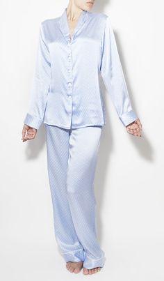 Olivia Von Halle Victoria Silk Pyjamas - Sleepwear - Lingerie | Austique