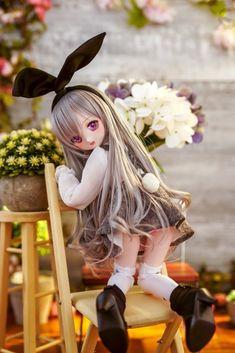 Beautiful Barbie Dolls, Pretty Dolls, Cute Dolls, Kawaii Doll, Kawaii Anime, Ooak Dolls, Blythe Dolls, Cute Young Girl, Figure Poses