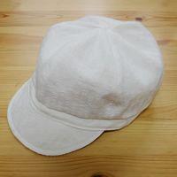 型紙無料ダウンロード(ベビー用キャスケット帽子)~ハンドメイドのココロ(新米ママの手芸&グルメ)