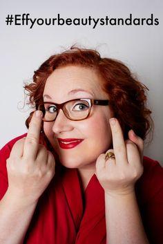 EffYourBeautyStandards voel je mooi in elke maat! Tess Munster heeft een modellencontract bij een groot buro. Ze is 1,65 en heeft maat 52.