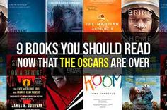 9 Books You Should Read Now That The Oscars Are Over