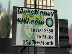 How to make money with money online...