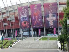 Euro 2012 Stadium Banners