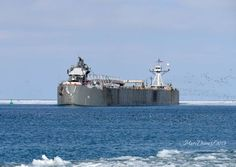 See 20 monster boats of the Great Lakes in gorgeous photos Great Lakes Ships, Marine Engineering, The Gr, Upper Peninsula, Tampa Bay, Iron Ore, Sailing Ships, Kayaking, Michigan