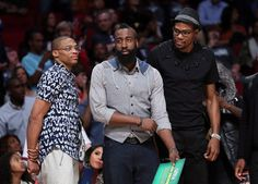 Kevin Durant, Russell Westbrook and James Harden